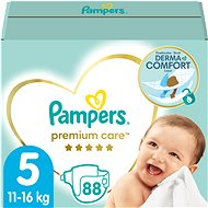 Pampers Premium Care MB Junior (88 ks) - mesačná zásoba