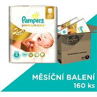 Pampers Premium Care MB Mini 160 ks - mesačná zásoba
