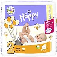Bella Baby HAPPY veľ. 2 Mini (78 ks)