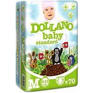 DOLLANO Baby Standard M 70 ks - Dětské pleny