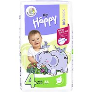 Bella Baby HAPPY veľ. 4 Maxi (66 ks) - Detské plienky