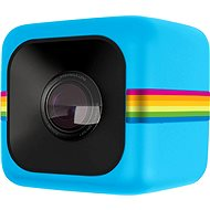 Polaroid Blauer Würfel