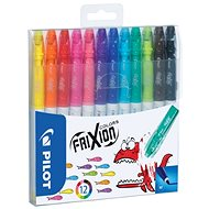 PILOT Frixion Colors 0.39 - 0.7mm, sada 12-ti barev - Fixy
