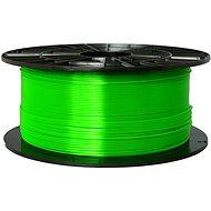 PLASTY MLADEČ 1.75mm PETG 1kg transparentní zelená - Tisková struna