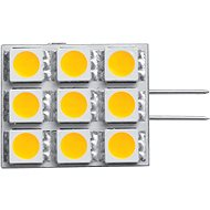 Panlux LED Kapsula 120 9LED G4 studená - LED žiarovka