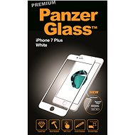 PanzerGlass Premium pro iPhone 7 Plus bílé - Ochranné sklo