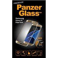 PanzerGlass Premium pro Samsung Galaxy S7 edge zlaté - Ochranné sklo