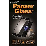 PanzerGlass pro Apple iPhone 6, 6s, 7 Prémiové sklo černé - Ochranné sklo