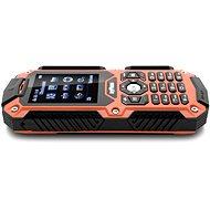 MyPhone Hammer orange and black Dual SIM