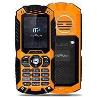 MyPhone Hammer Plus orange-black