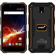 MyPhone Hammer Energy oranžovo-černý - Mobilní telefon