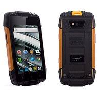 MyPhone Hammer Iron 2 oranžovo-čierny
