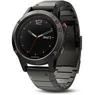 Garmin Fenix 5 Sapphire Gray Optic Metal band