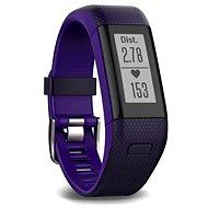 Garmin vívoSmart Optic s GPS Purple (L) - Fitneszkarkötő