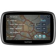 TomTom TRUCKER 500 TMC Lifetime mapy
