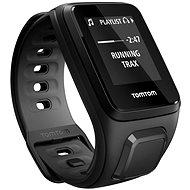 TomTom GPS hodinky Runner 2 Cardio + Music (S), čierna/antracit