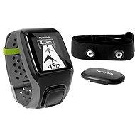TomTom Multi-Sport + monitor srdcového tepu tmavo šedé
