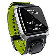 TomTom GPS hodinky Golfer šedo-zelené