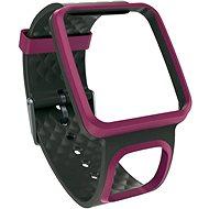 TomTom Komfortní řemínek (tenký)-tmavě růžový