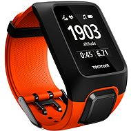 TomTom GPS watch Adventurer Cardio + Music, Orange - Sports Watch