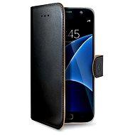 CELLY WALLY590 čierne - Puzdro na mobilný telefón