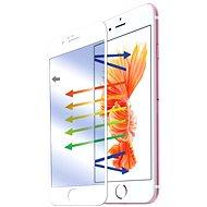 CELLY GLASS pre iPhone 6 a iPhone 6S bielej - Ochranné sklo