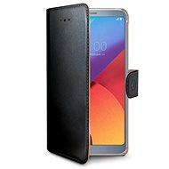 CELLY Wally pro LG G6 černé - Pouzdro na mobilní telefon