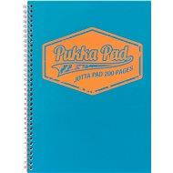 PUKKA PAD Jotta Neon A4 linkovaný, modrý - Blok na psaní