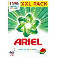 ARIEL Whites & Colours 5.25 kg (70 doses)