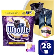 WOOLITE Black, Darks, Denim 28 ks - Kapsle na praní