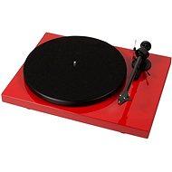 Pro-Ject Debut Carbon Phono USB + DC OM10 - červený - Gramofon