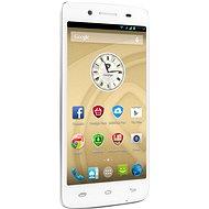 Prestigio MultiPhone 5507 DUO bílý - Mobilní telefon