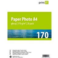 Drucken Sie es Fotoglanzpapier A4 20 Blatt - Fotopapier