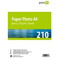 PRINT IT Paper Photo Glossy A4 20 listů - Fotopapír