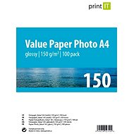 PRINT IT Paper Photo Glossy A4, 150g/m2, 100 sheets