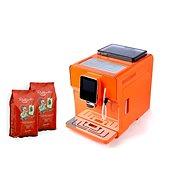 LUCAFFÉ Raffaello Latte Pro, oranžová - Automatický kávovar