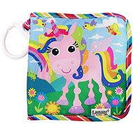 Lamaze - Textile unicorn book Tilly