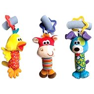 Playgro Travel hanging toys 3 pcs