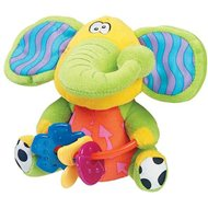 Playgro rustling elephant with teethers