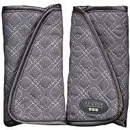 Covers for car seat straps - Graphite