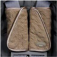 Abdeckungen für Autositzgurte - Khaki