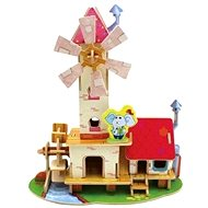 Wooden 3D Puzzle - Water and windmill
