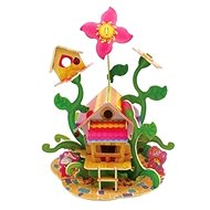 Wooden 3D Puzzle - Flower House - Puzzle