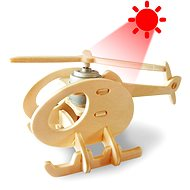 Wooden 3D Puzzle - Solar Helicopter