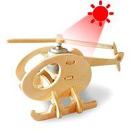Wooden 3D Puzzle - Solar Hubschrauber