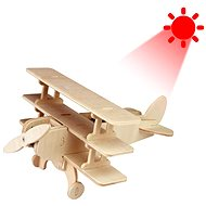 Wooden 3D Puzzle - Solar Airplane Trojan