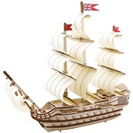 Wooden 3D Puzzle - Wooden Shipyard Victory