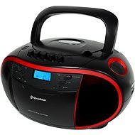 Roadstar RCR-3750UMP černo/červený - Radiomagnetofon
