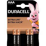 Duracell Basic AAA 4 ks - Baterie