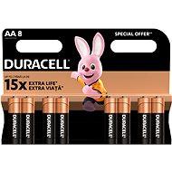 Duracell Basic AA 8 ks - Baterie